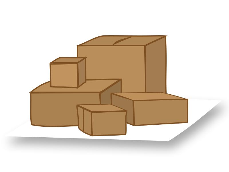 Pakete von ihrem Briefkasten